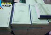 Báo giá dịch vụ photocopy ở Hà Nội