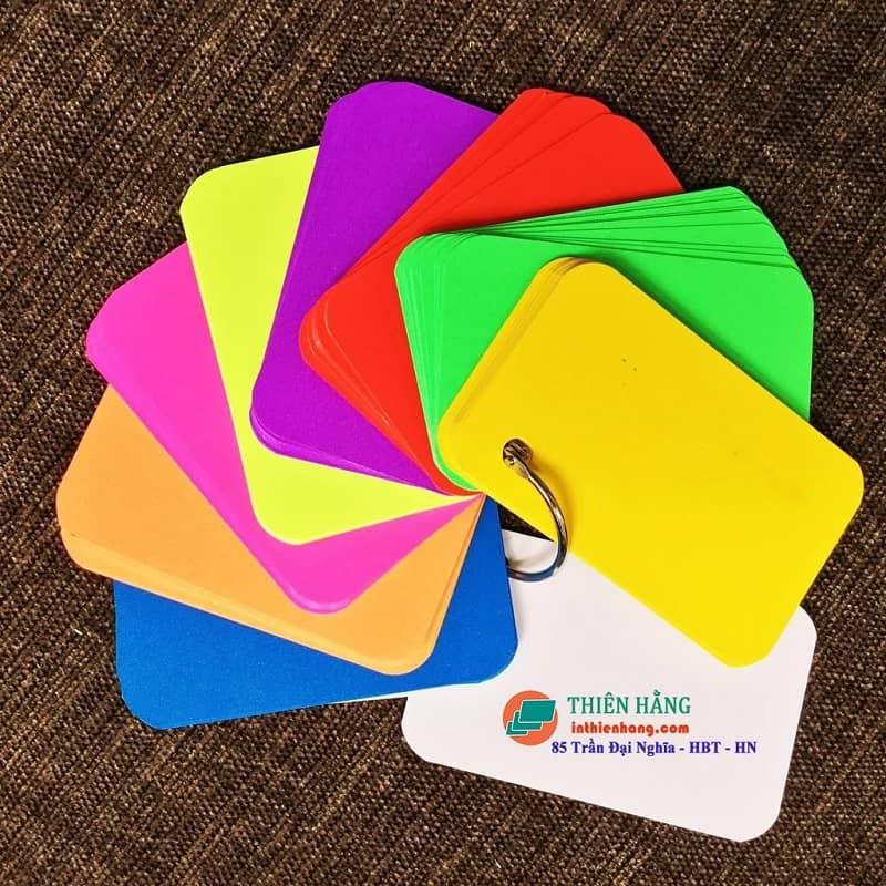 Flashcard màu