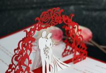 Mẫu thiệp cưới mời bạn bè