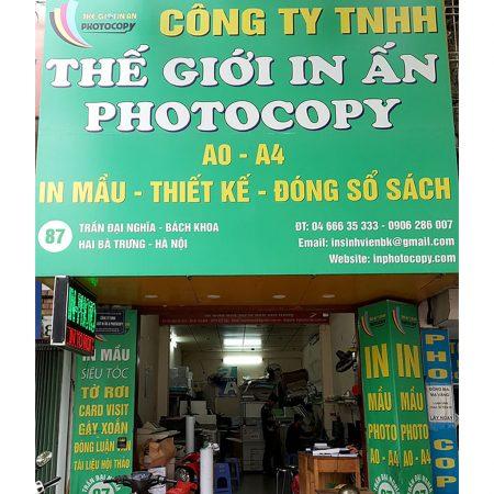 Công ty in ấn giá rẻ tại Hà Nội