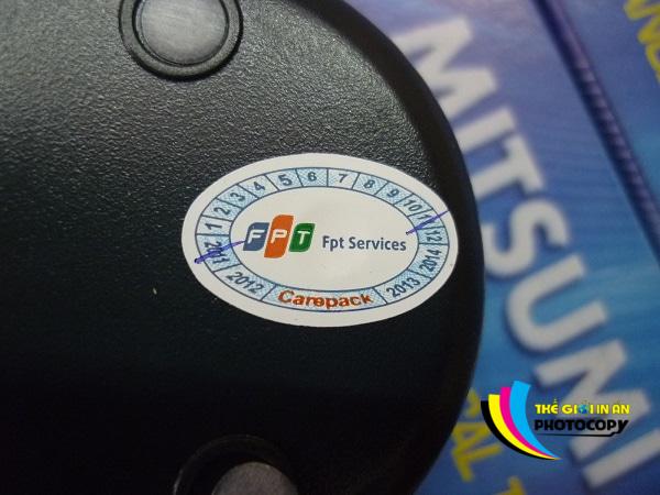Tem bảo hành FPT