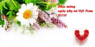 Thiệp chúc mừng ngày phụ nữ Việt Nam
