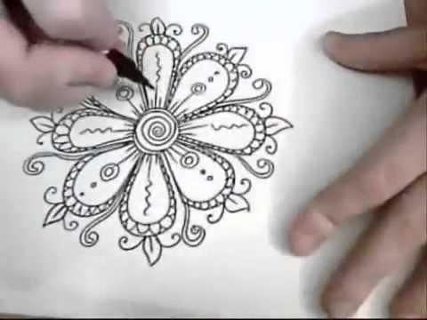 vẽ hoa văn đẹp